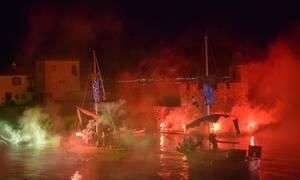 Ναύπακτος: Εντυπωσιακή αναπαράσταση της ιστορικής ναυμαχίας (photos+video)