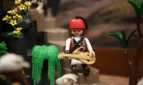 Εθνικό Ιστορικό Μουσείο: Η επανάσταση του 1821 με φιγούρες Playmobil (photos)