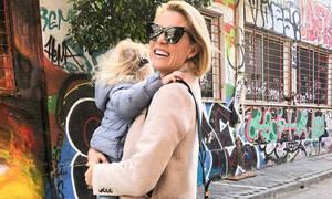Βίκυ Καγιά: Η κόρη της βρέθηκε στο πλατό του GNTM - Δείτε πώς τη φωτογράφησε (pics)