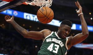 NBA: Σούπερ Θανάσης στη νίκη των Μπακς (video)