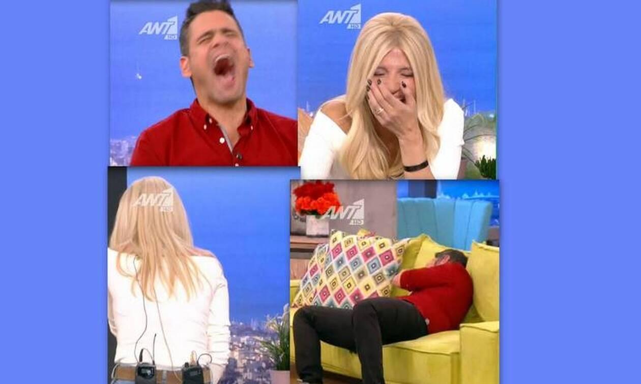 Το Πρωινό: Έπεσαν κάτω από τα γέλια! Απίστευτο σκηνικό!