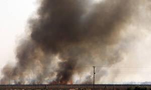 Βίντεο - σοκ: Η στιγμή που τουρκικό μαχητικό βομβαρδίζει καμιόνι Κούρδων