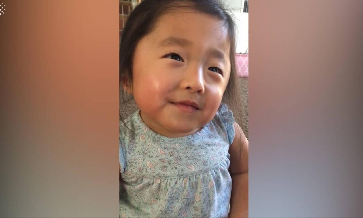 Το viral βίντεο της ημέρας: Κοριτσάκι μιλά για την 1η στιγμή που συνάντησε την θετή μητέρα του (vid)