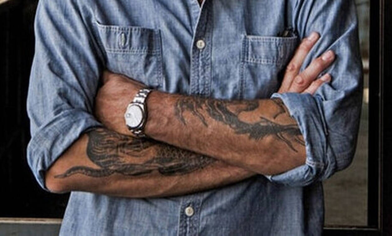 Τα υπέροχα ρολόγια του διάσημου σεφ με τα τατουάζ!