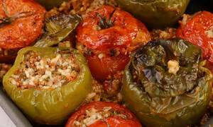 Η συνταγή της ημέρας: Γεμιστά με κιμά