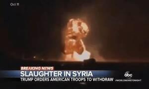 Συρία: Σάλος και οργή με βίντεο του ABC - Έκανε… μάγκα τον μακελάρη Ερντογάν