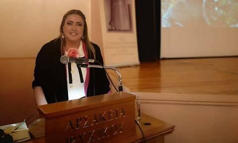 Εντυπωσίασε η Μαρίλη Γλύπτη Κανελλάκη διδάσκοντας «L'Art de la Table»
