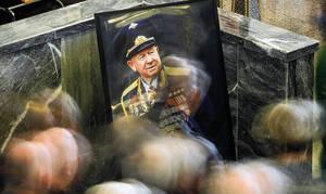 Прощание c космонавтом Алексеем Леоновым