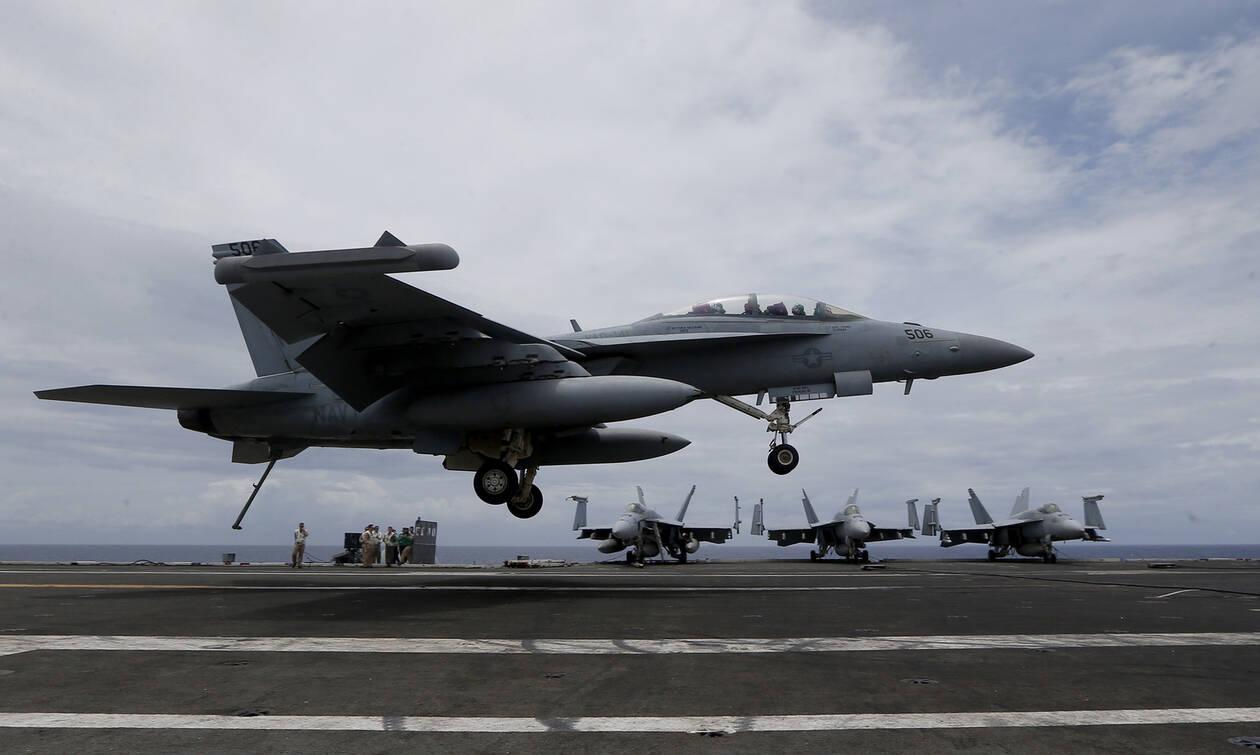 Συρία: Αμερικανικά μαχητικά εναντίον «μισθοφόρων» του Ερντογάν