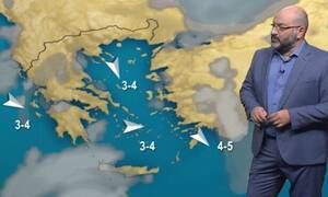 Καιρός: Πότε θα καταρρεύσει ο αντικυκλώνας; Η ενημέρωση του Σάκη Αρναούτογλου (video)