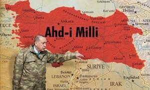 Χάρτες -ΣΟΚ από τον Ακάρ: Θράκη, Μακεδονία, Αιγαίο και Κύπρος στα χρώματα της Τουρκίας