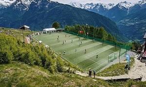 Αυτό είναι το ψηλότερο γήπεδο στην Ευρώπη (pics+vid)