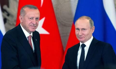 «Κλείδωσε» η συνάντηση Πούτιν - Ερντογάν στο Σότσι