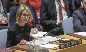 Κέλι Κραφτ: Η στρατιωτική επίθεση της Τουρκίας διακυβεύει την εκστρατεία για την ήττα του ΙΚ