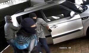 Μπούκαραν σε σπίτι για ένοπλη ληστεία - Έτρεχαν να σωθούν από το χουνέρι του ιδιοκτήτη (pics+vid)