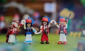 «Το '21 Αλλιώς: Η Ελληνική Επανάσταση Με Φιγούρες PLAYMOBIL