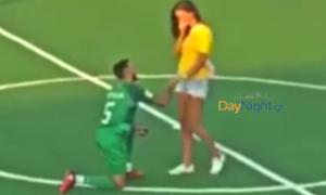 Ρέθυμνο: Λιθουανός ποδοσφαιριστής κάνει πρόταση γάμου στο «SOCCA World Cup 2019»!