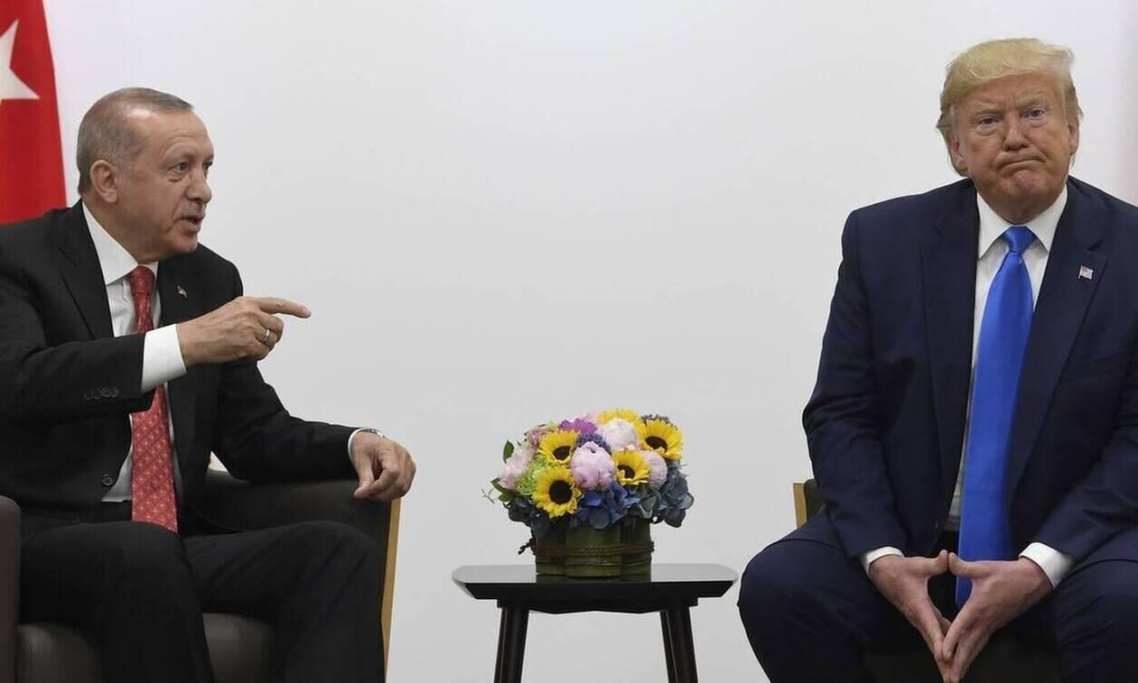 Τραμπ: Μη γίνεσαι ανόητος – Ερντογάν: Πέταξα στα σκουπίδια την επιστολή του