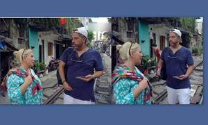 Globetrotters: Ο απίστευτος καβγάς Αντελίνας και Χάρη Βαρθακούρη μπροστά στις κάμερες