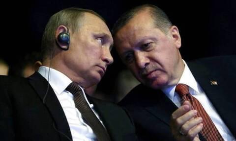 Ο Πούτιν «τελειώνει» τον αιμοδιψή Ερντογάν: «Ο Άσαντ πρέπει να ελέγξει τα συροτουρκικά σύνορα»