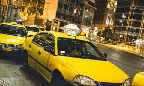 Μεγαλύτερος κάφρος ταξιτζής: Δείτε τι έκανε σε πελάτη! (vid)
