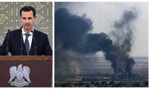 Άσαντ για εισβολή στη Συρία: Θα απαντήσουμε με όλα τα «νόμιμα μέσα» στην Τουρκία