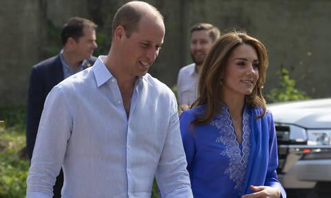 Θρίλερ με το αεροπλάνο του πρίγκιπα Γουίλιαμ και της Κέιτ Μίντλετον