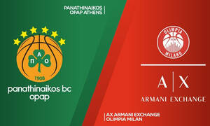 Παναθηναϊκός ΟΠΑΠ-Αρμάνι Μιλάνο LIVE: Λεπτό προς λεπτό η «μάχη» του ΟΑΚΑ