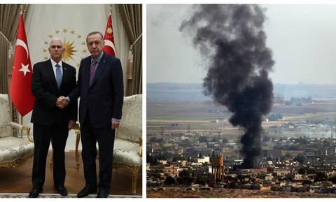 Συμφωνία ΗΠΑ - Τουρκίας: Αποφασίστηκε πενθήμερη κατάπαυση του πυρός στη Συρία