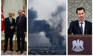 Δαμασκός: «Ασαφής» η συμφωνία ΗΠΑ–Τουρκίας για κατάπαυση του πυρός - Άγκυρα:«Πήραμε αυτό που θέλαμε»