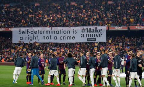Χάος στην Ισπανία: Αναβλήθηκε το «Clasico»