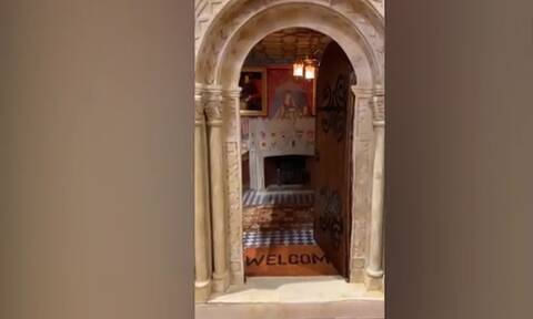 Επικό! 42χρονος φτιάχνει κάστρο μινιατούρα εδώ και 30 έτη και το αποτέλεσμα είναι απίθανο (vid)