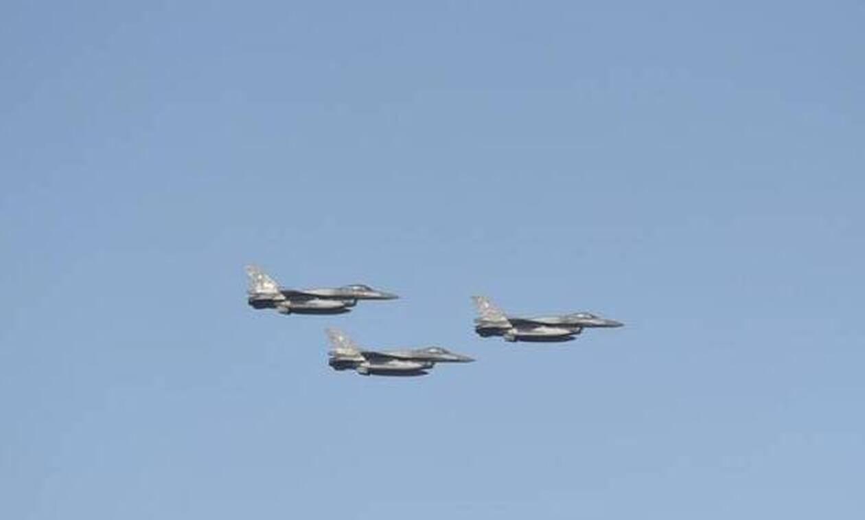 Ενοχλήθηκαν στα Κατεχόμενα με τα ελληνικά F16 -  «Παραβίασαν τον εναέριο μας χώρο»