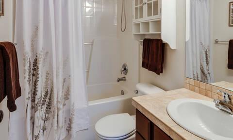 Πώς θα καθαρίσεις την κουρτίνα και το χαλάκι του μπάνιου εύκολα κι αποτελεσματικά