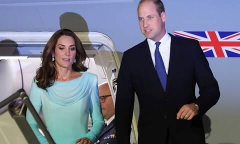Βίντεο ΣΟΚ από την πτήση θρίλερ του πρίγκιπα Γουίλιαμ και της Κέιτ Μίντλετον (vid)