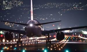 Τρόμος: Αεροπλάνο έπιασε φωτιά μπροστά στους επιβάτες (pics)