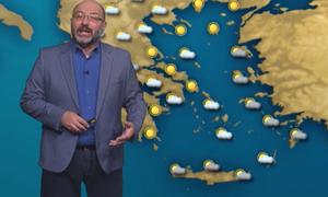 Καιρός: Προσοχή τις θερμές ώρες της μέρας! Η προειδοποίηση του Σάκη Αρναούτογλου (video)