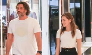 Κοκκινάκης – Κανελλοπούλου: Η βόλτα σε εμπορικό κέντρο και η συνάντηση με επώνυμο ζευγάρι (Photos)