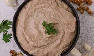 Η συνταγή της ημέρας: Σκορδαλιά με καρύδια