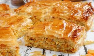 Η συνταγή της ημέρας: Αλμυρή κολοκυθόπιτα