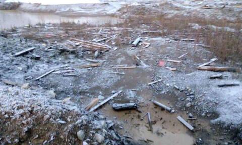 Ρωσία: Τουλάχιστον 13 νεκροί μετά την κατάρρευση φράγματος σε χρυσωρυχείο στη Σιβηρία