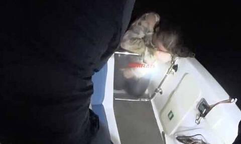 Ανατριχιαστικό βίντεο με τη 18χρονη που έσωσαν ψαράδες στη Κρήτη: Τα πρώτα λόγια της Κατερίνας (vid)
