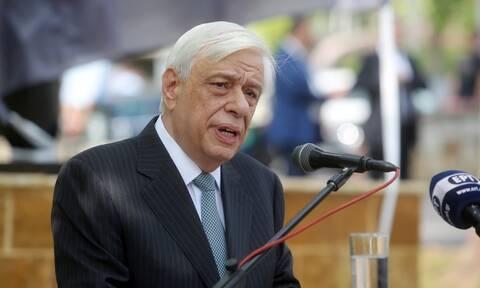 Παυλόπουλος: «Είμαστε θεματοφύλακες της ειρήνης, αλλά ταυτόχρονα και του αγώνα για την ελευθερία»