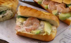 Η συνταγή της ημέρας: Sandwich με γαρίδες