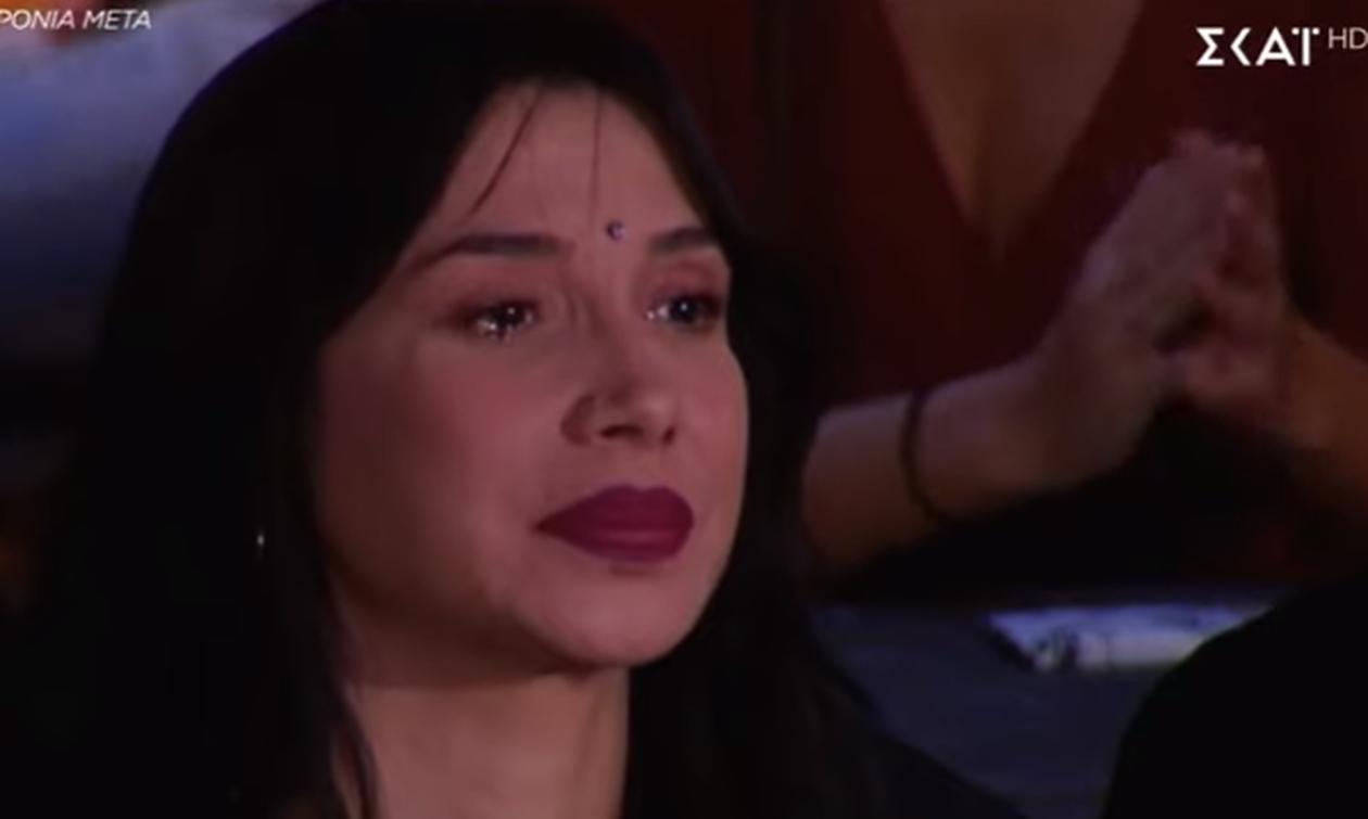 Τα δάκρυα του Σάκη Ρουβά και της Πάολα on camera (pics)