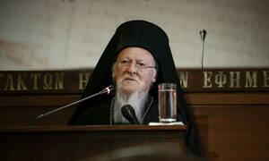 Βαρθολομαίος: «Υπερχιλιετής η σχέση» της Ορθόδοξης Εκκλησίας με τον αγιορείτικο μοναχισμό
