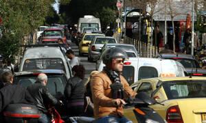 ΤΩΡΑ: Κίνηση στους δρόμους της Αθήνας - Πού σημειώνεται μποτιλιάρισμα