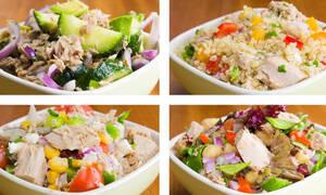 Σαλάτες με τόνο: Είναι ιδανικές για δίαιτα (vid)