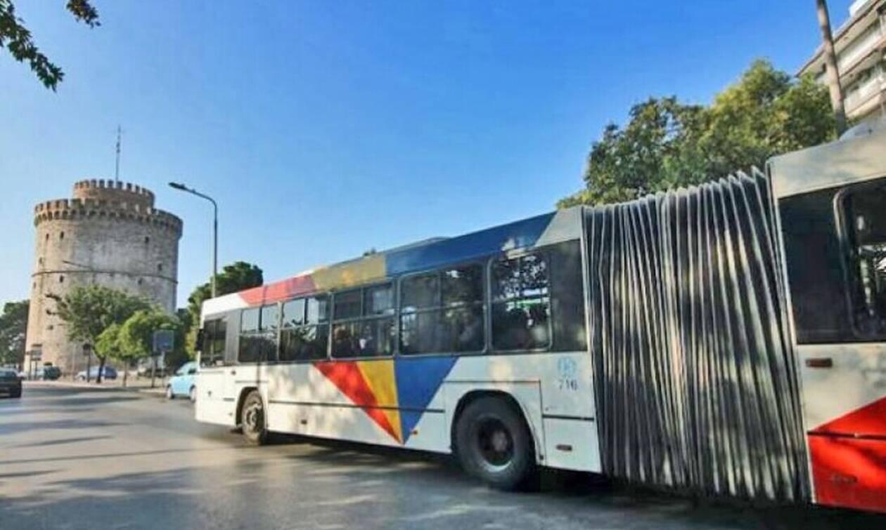 Τρομακτικό: Ποδηλάτες επιτέθηκαν σε λεωφορείο στη Θεσσαλονίκη!