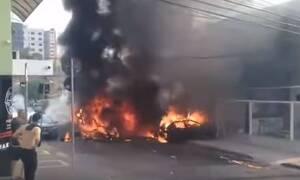 Τραγωδία στη Βραζιλία: Αεροπλάνο συνετρίβη σε κατοικημένη περιοχή - Τρεις νεκροί (vid)